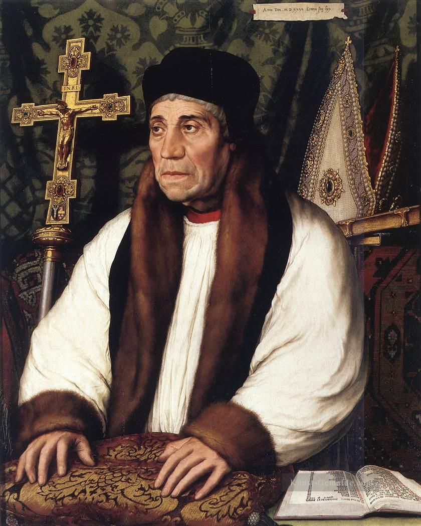 Hans Holbein the Younger. Portrait of William Warem, Archbishop of Canterbury
