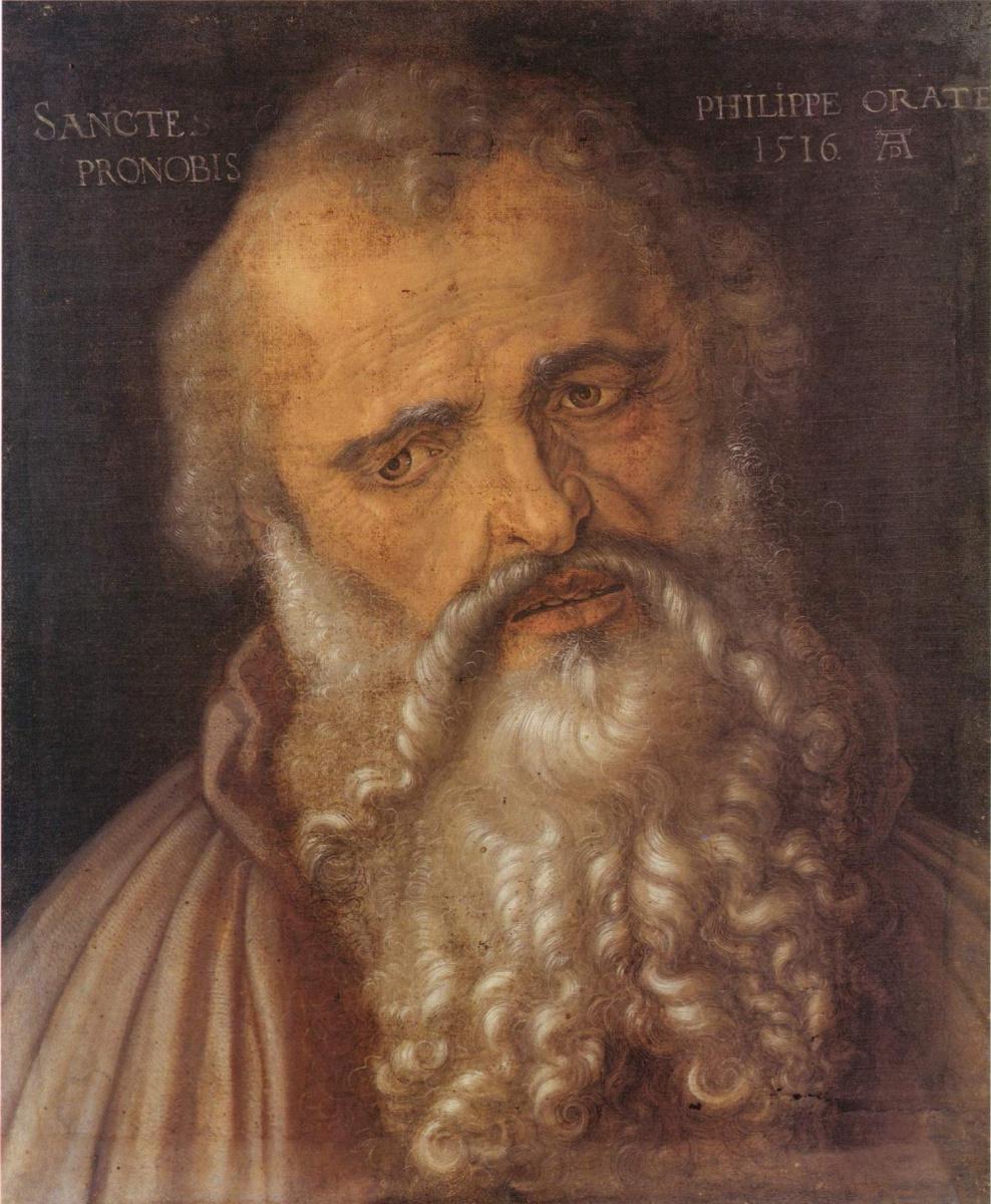 Albrecht Dürer. The Apostle Philip