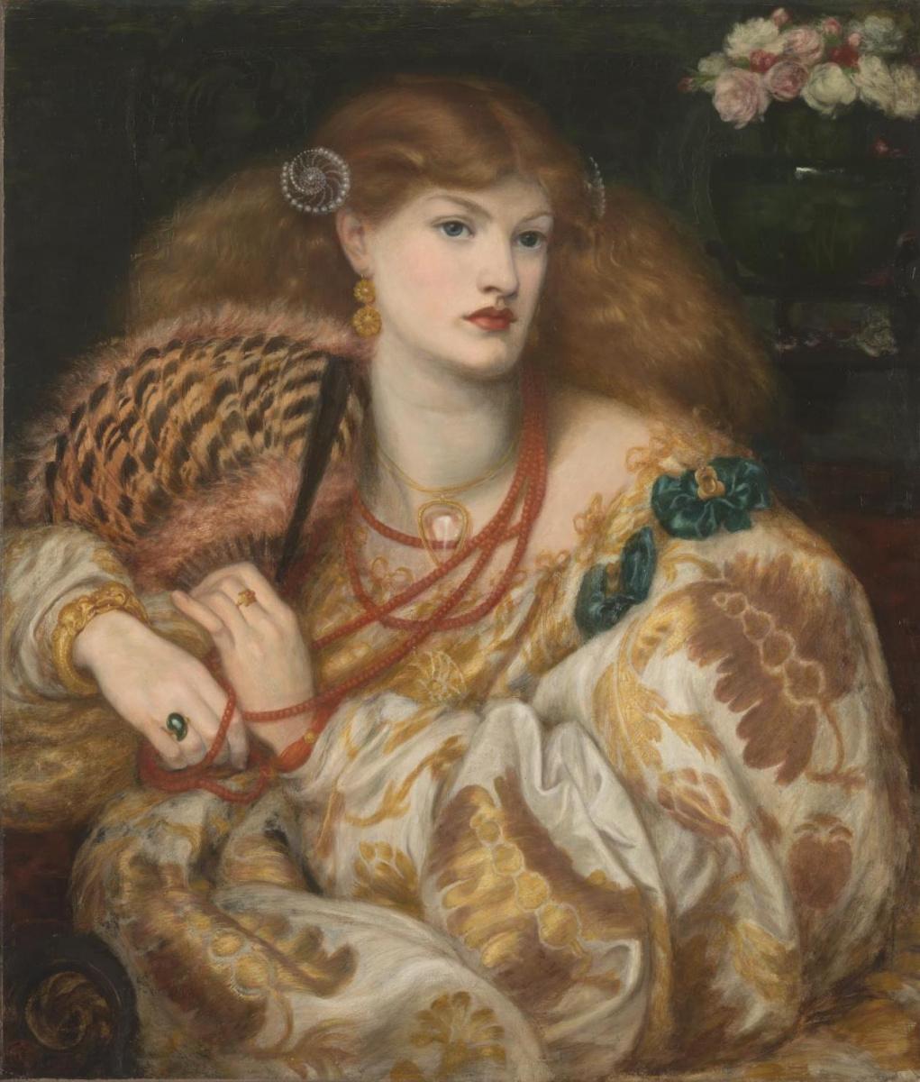Dante Gabriel Rossetti. Monna Vanna