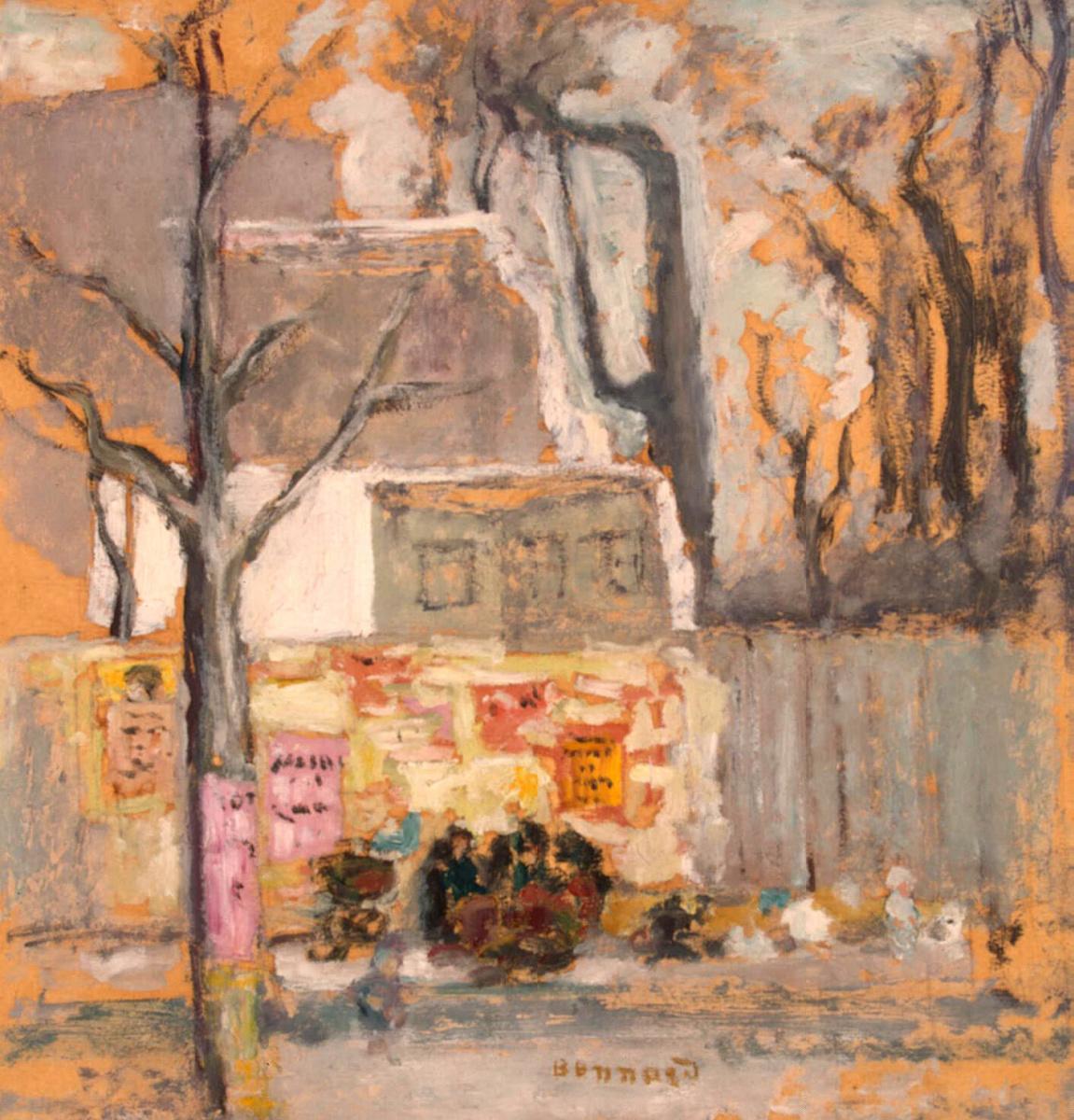 Пьер Боннар. Уголок Парижа