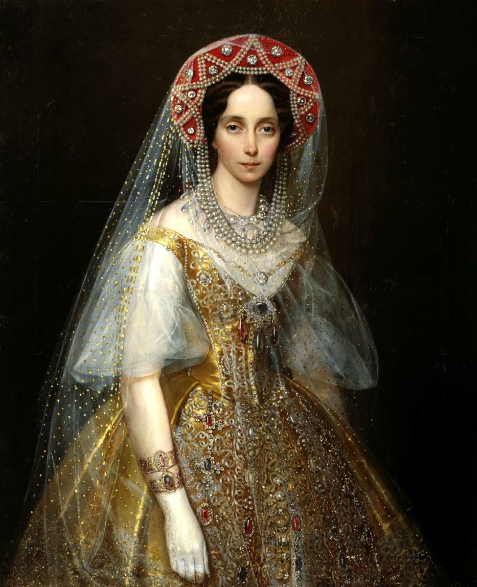 Иван Макаров. Великая княгиня Мария Александровна