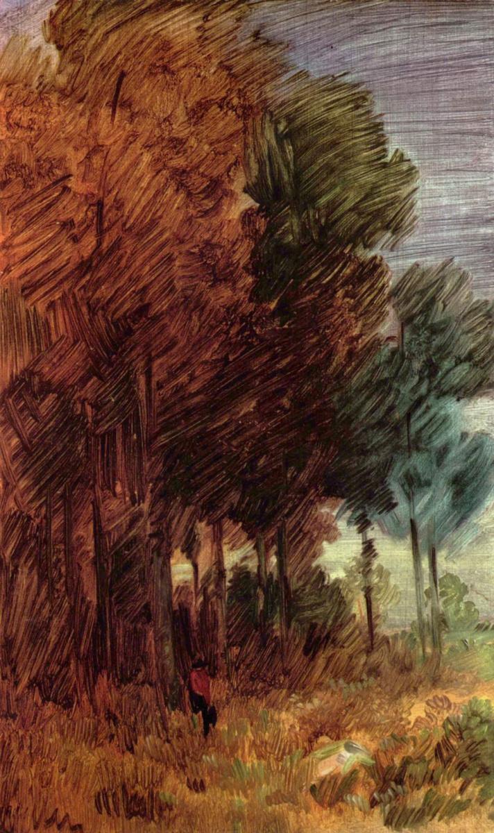 Вильгельм Буш. Осенний лес