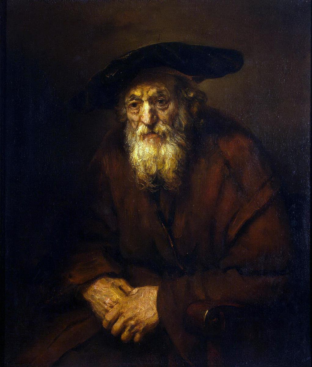 Рембрандт Ван Рейн. Портрет старика-еврея