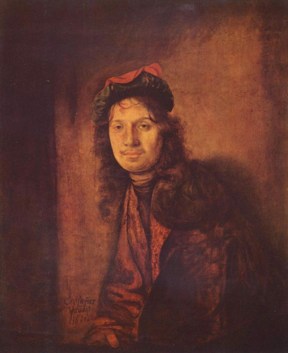 Паудис Кристоф. Мужской портрет