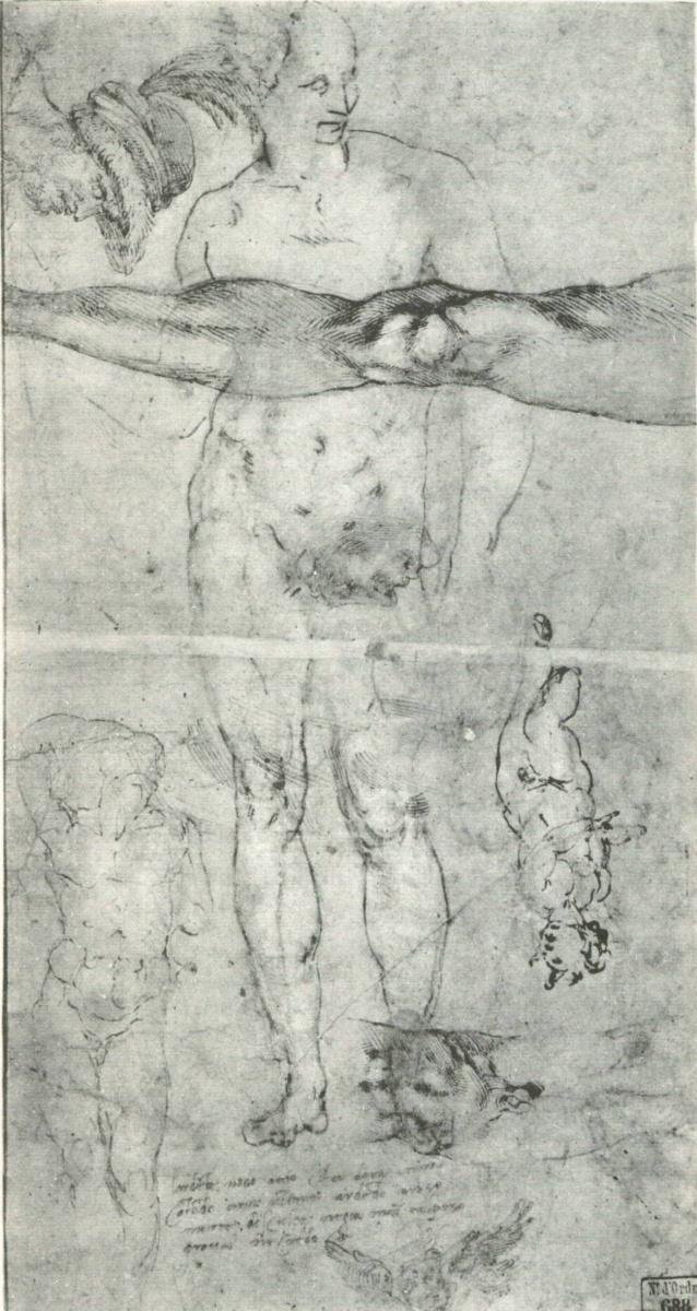Микеланджело Буонарроти. Разные исследования