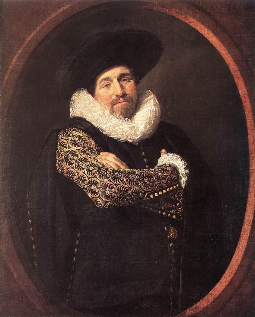 France Hals. Portrait of a man. Possibly Isaac Massa