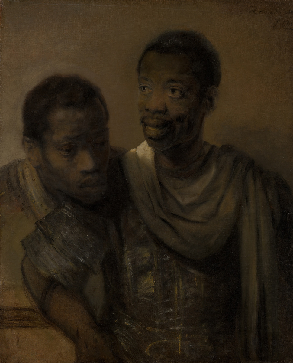 Рембрандт Харменс ван Рейн. Два мавра