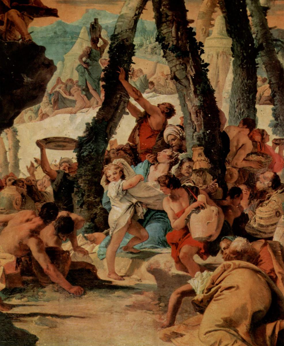 Giovanni Battista Tiepolo. Manna Collection