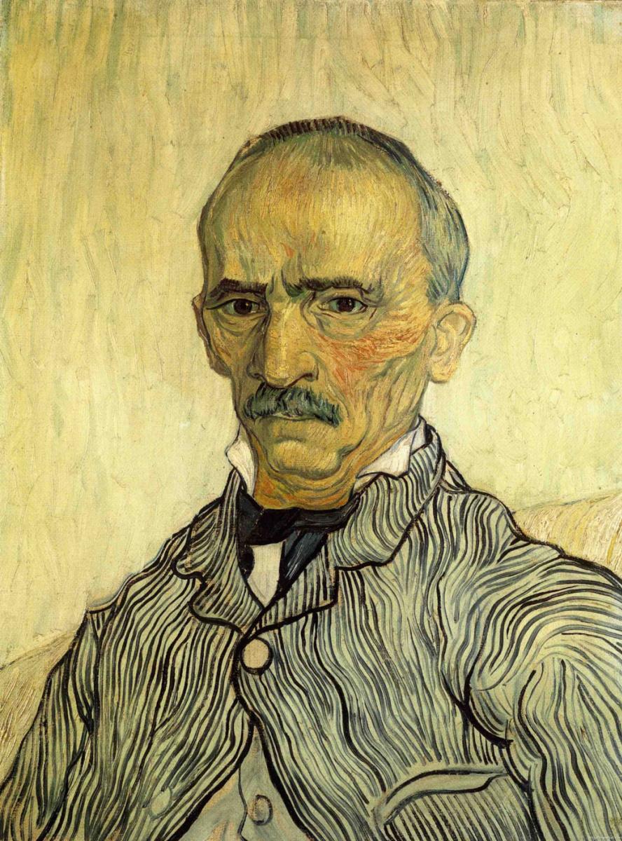 Винсент Ван Гог. Портрет господина Трабюка