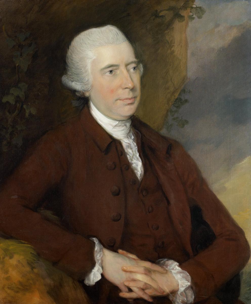 Thomas Gainsborough. Sir George Scott Chad, baronet of Thursford