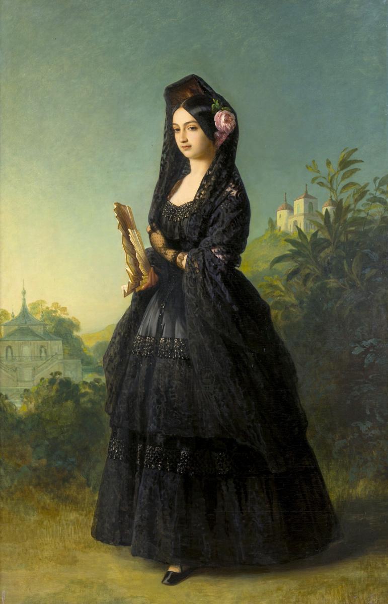 Франц Ксавер Винтерхальтер. Инфанта Луиза Фернанда Испанская, герцогиня Монпенсье