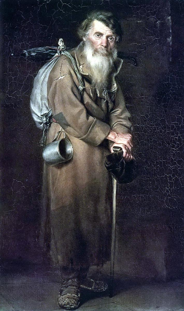 Василий Григорьевич Перов. Странник