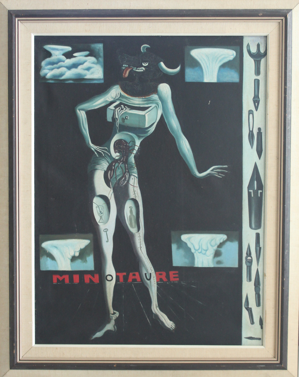 Unknown artist. Minotaure (Salvador Dali)