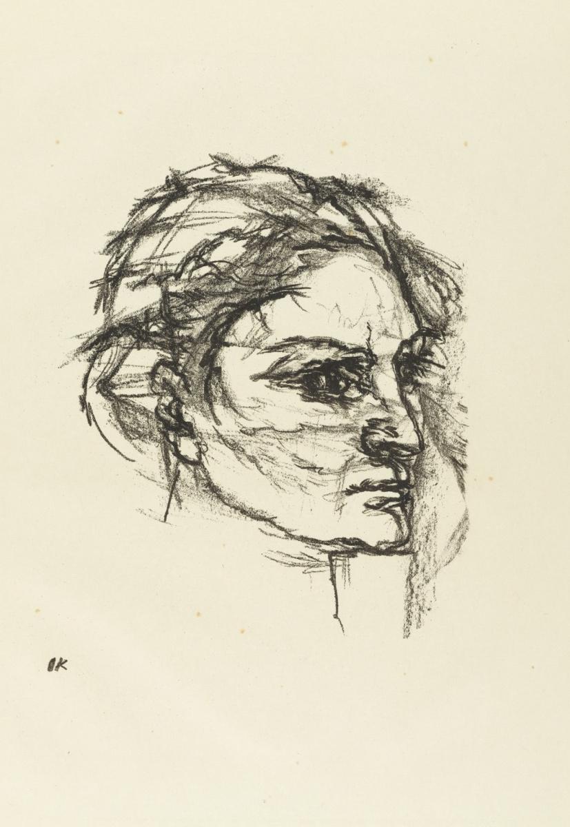 Oskar Kokoschka. Portrait of a woman