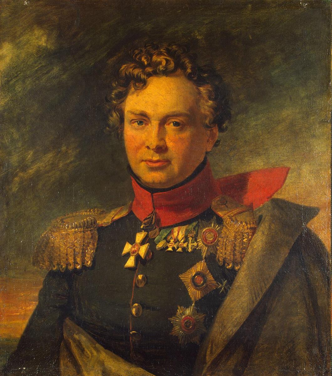George Dow. Portrait Of Andrey I. Gorchakov