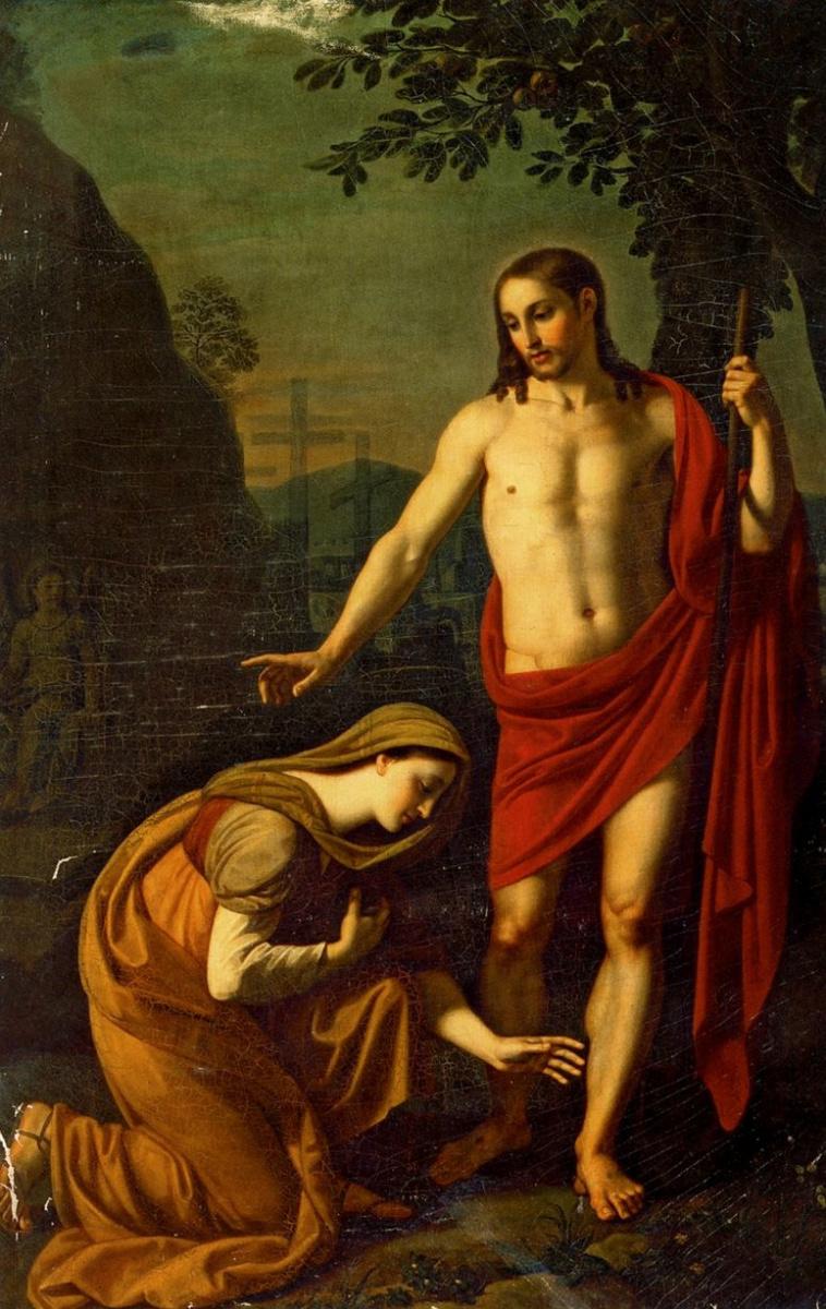 Алексей Егорович Егоров. Явление Христа Марии Магдалине