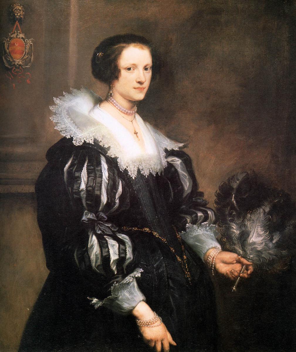 Anthony van Dyck. Portrait Of Anna Wake