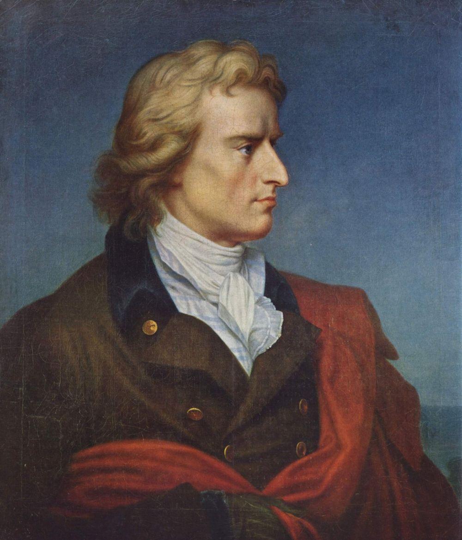 Герард фон Кюгельген. Портрет Фридриха Шиллера