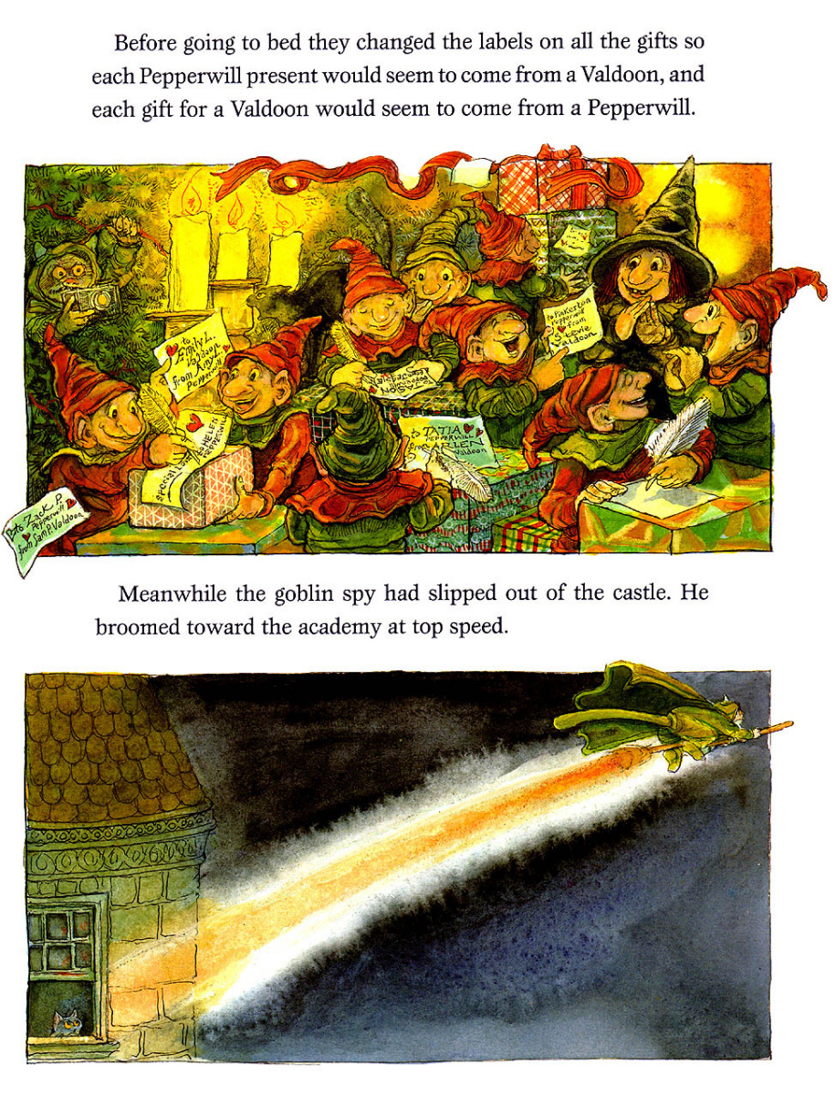 Стивен Келлог. Рождественская ведьма 9