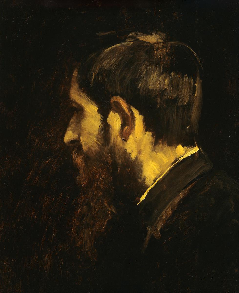Михай Либ Мункачи. Портрет художника Ласло Паала