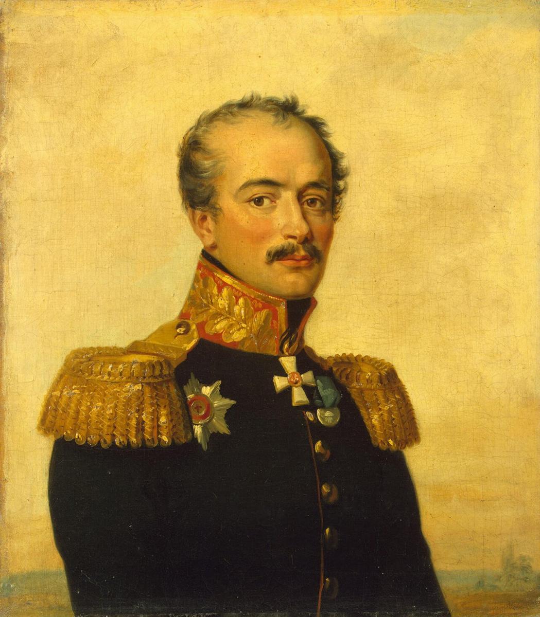 Джордж Доу. Портрет Ивана Михайловича Вадбольского
