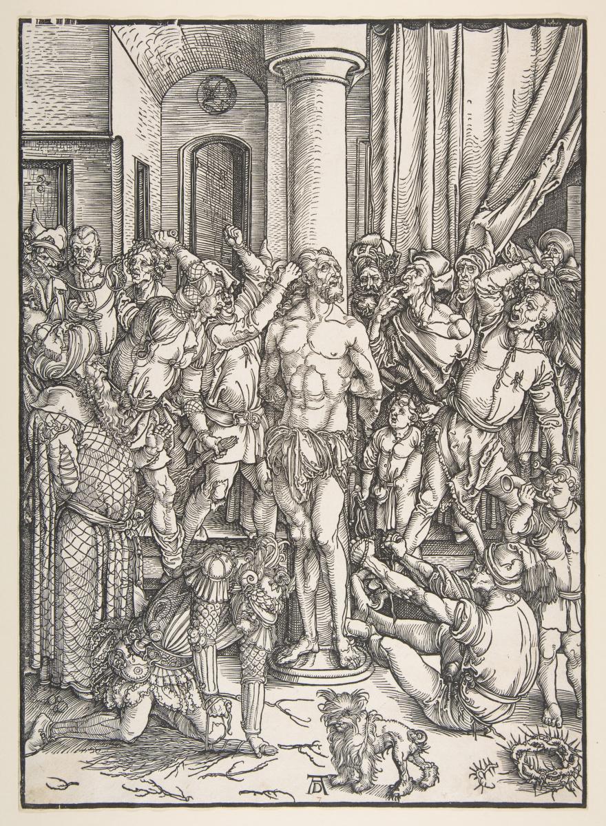 Альбрехт Дюрер. Бичевание Христа