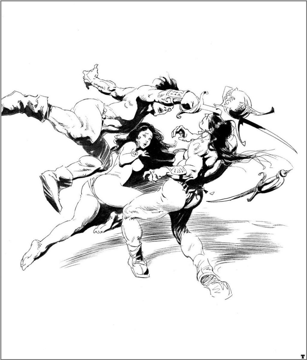 комиксы эротические черно белые № 2820 бесплатно