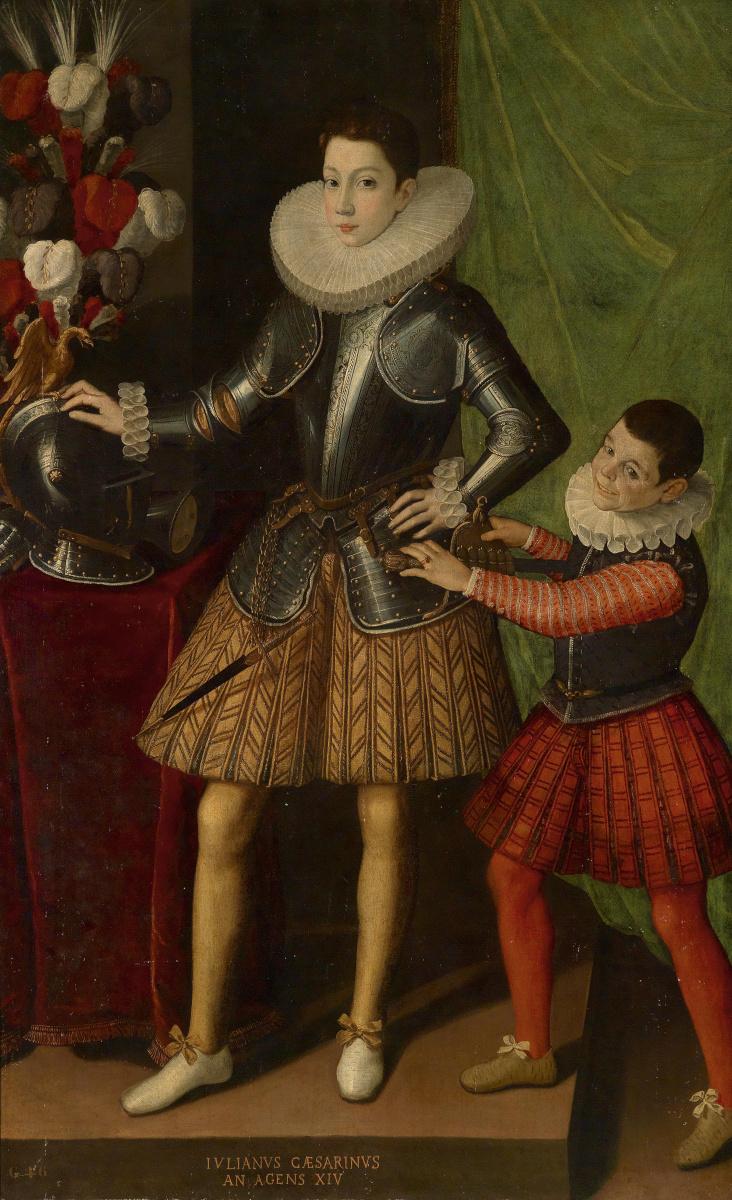 Sofonisba Angisola. Portrait of Giuliano II Cesarini at the age of 14