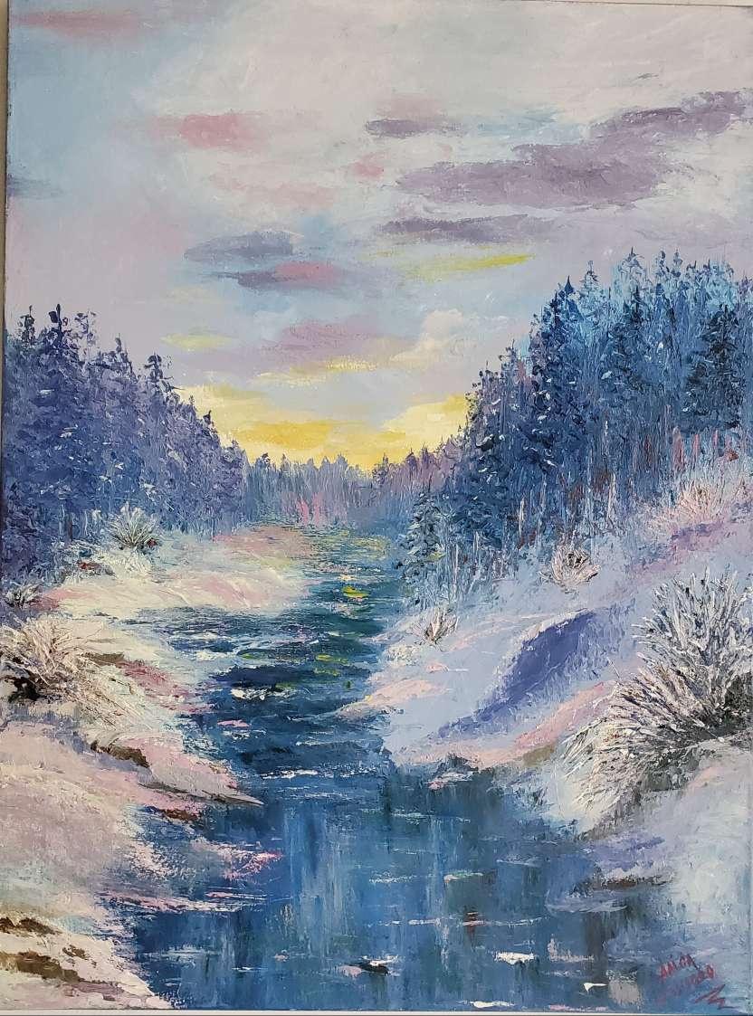 Alisa Shymanska. Carpathian landscape