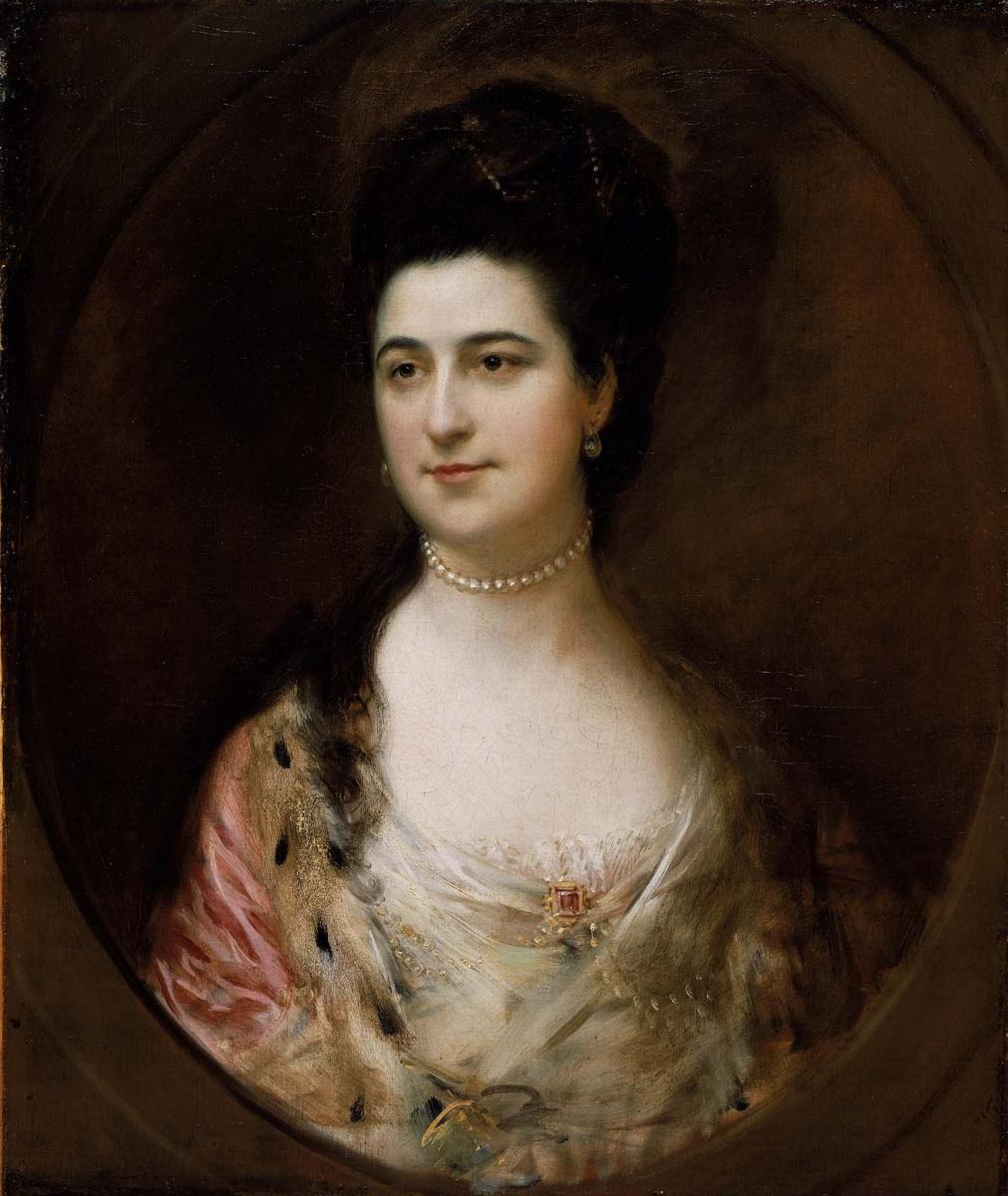 Thomas Gainsborough. Mrs. Thomas Matthews