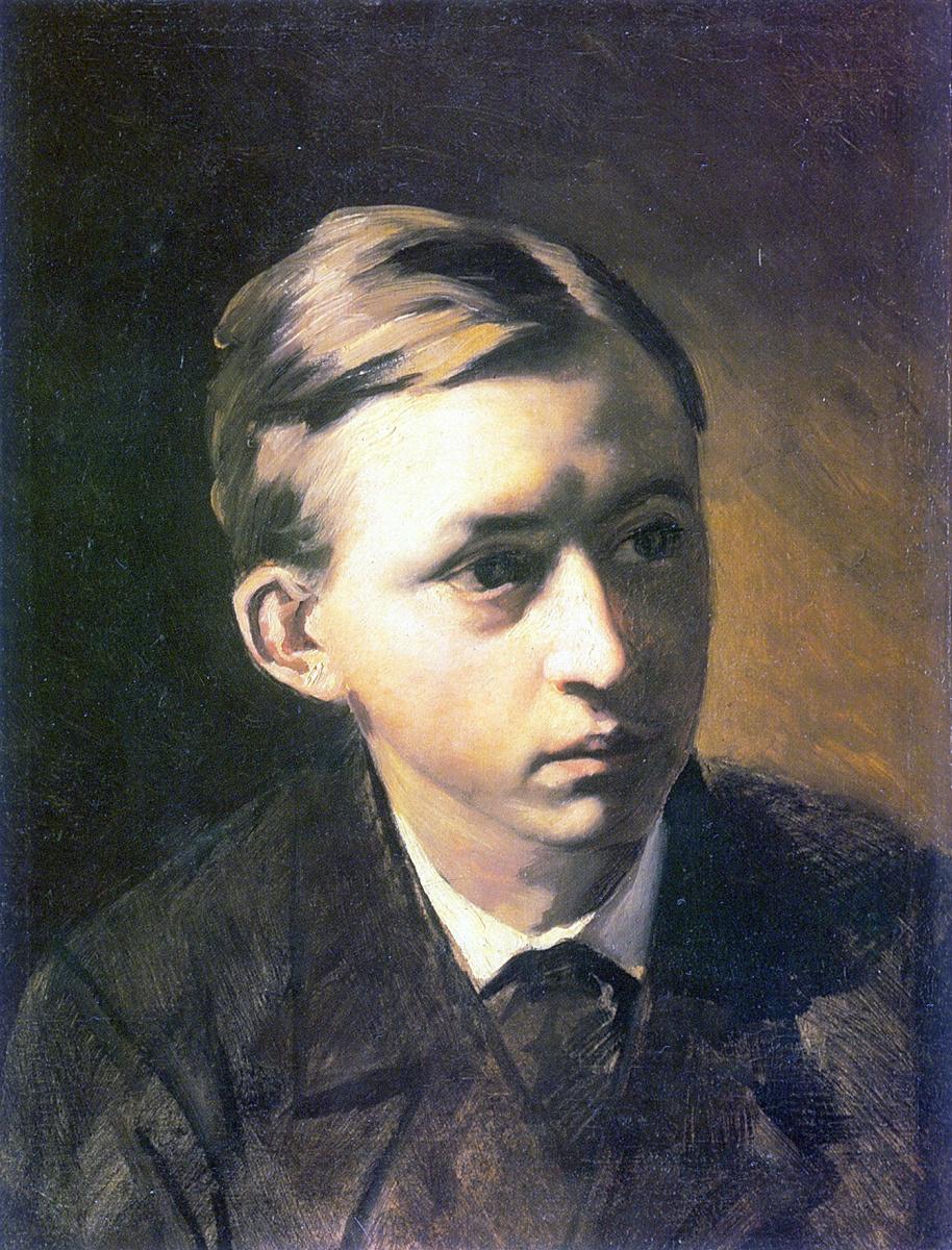 Василий Григорьевич Перов. Портрет Касаткина
