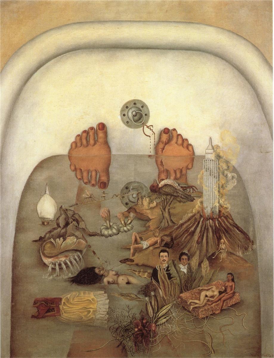 Фрида Кало. Что мне дала вода