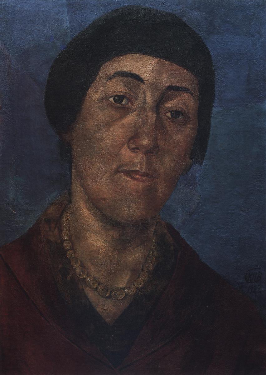 Кузьма Сергеевич Петров-Водкин. Портрет М. Ф. Петровой-Водкиной, жены художника