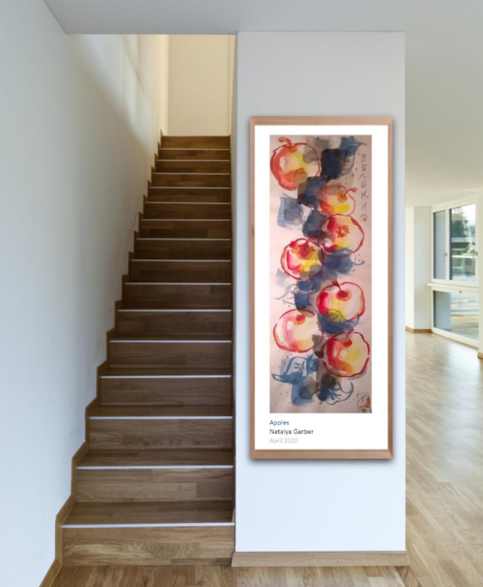 Natalya Garber. Apples. Work for VIP organizations, leaders and creative spaces
