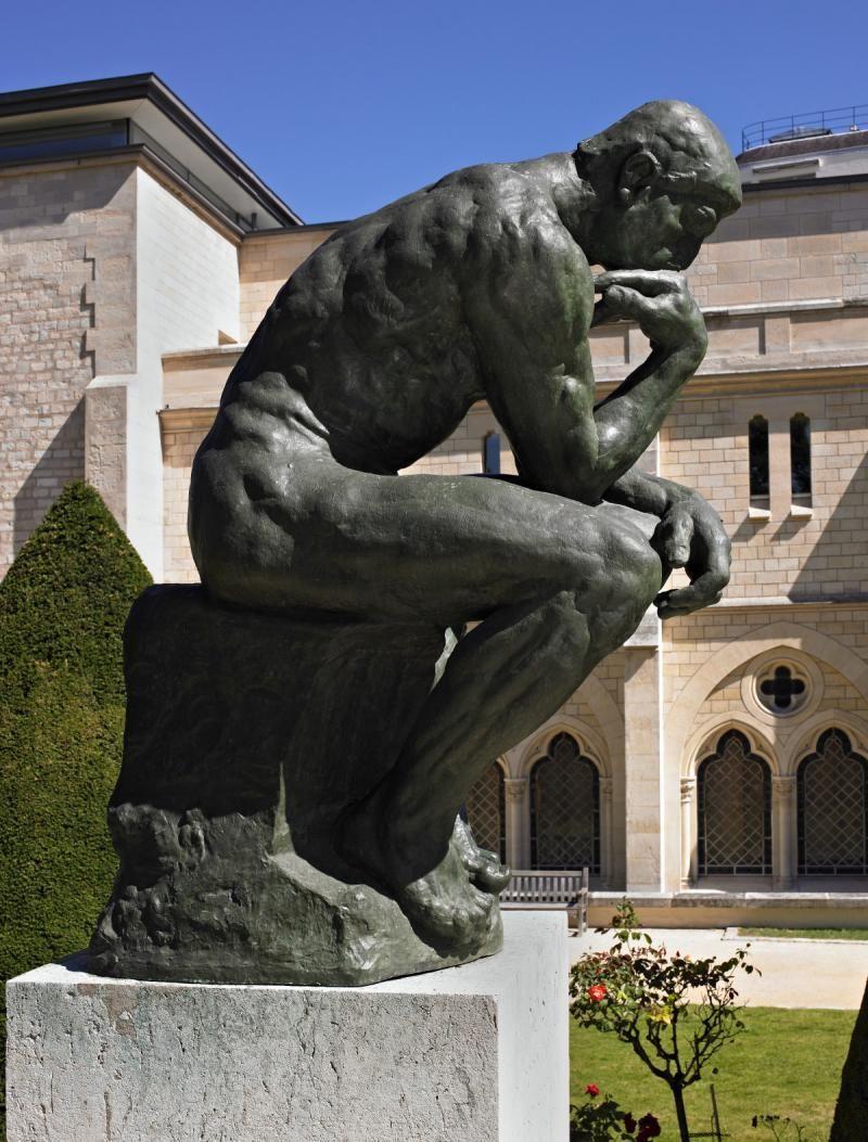 Auguste Rodin. Thinker