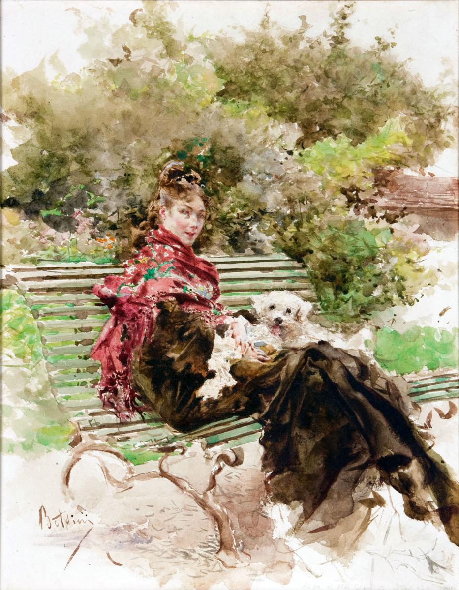 Джованни Больдини. В парке