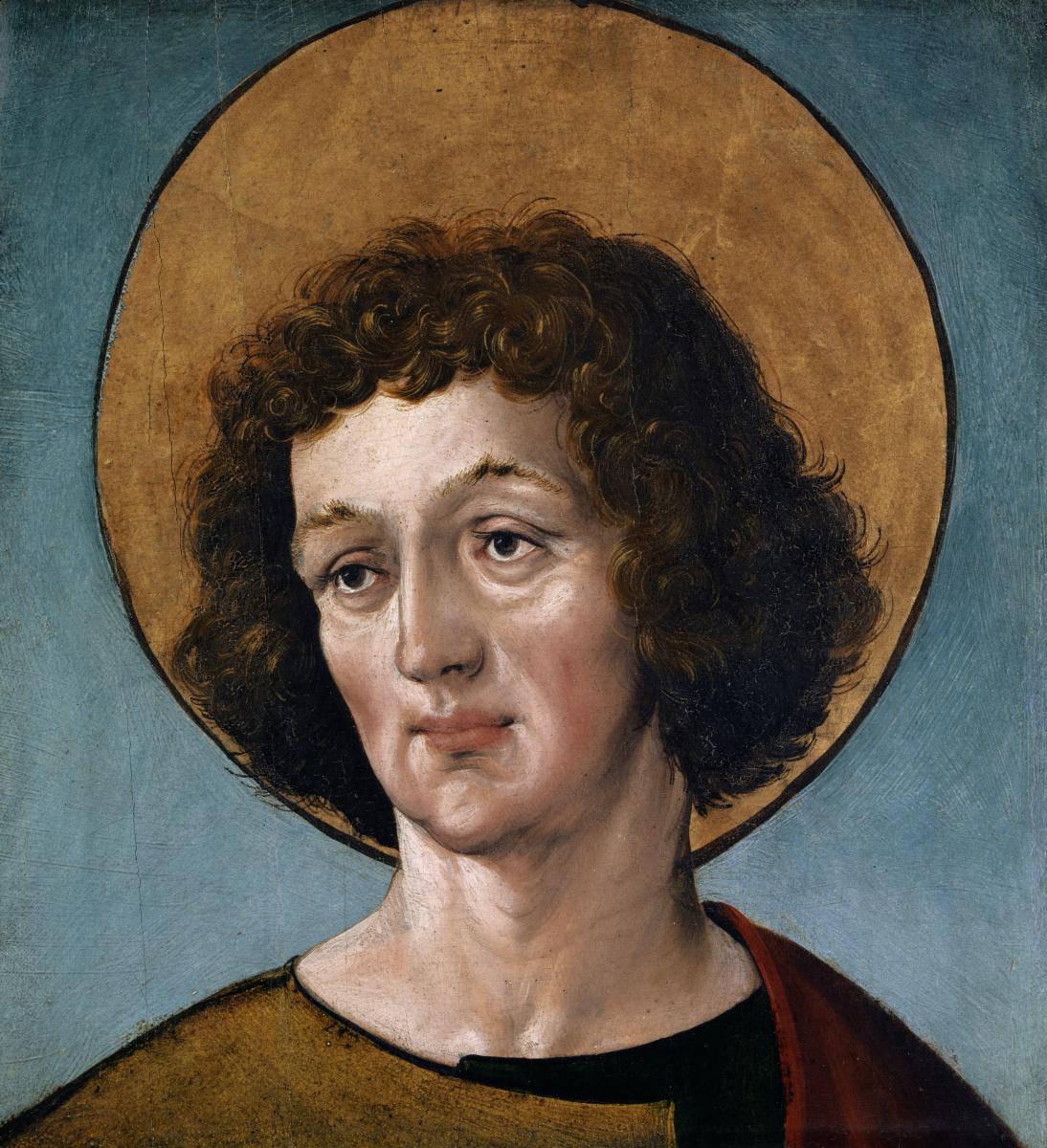 Ганс Гольбейн Младший. Голова одного мужского святого