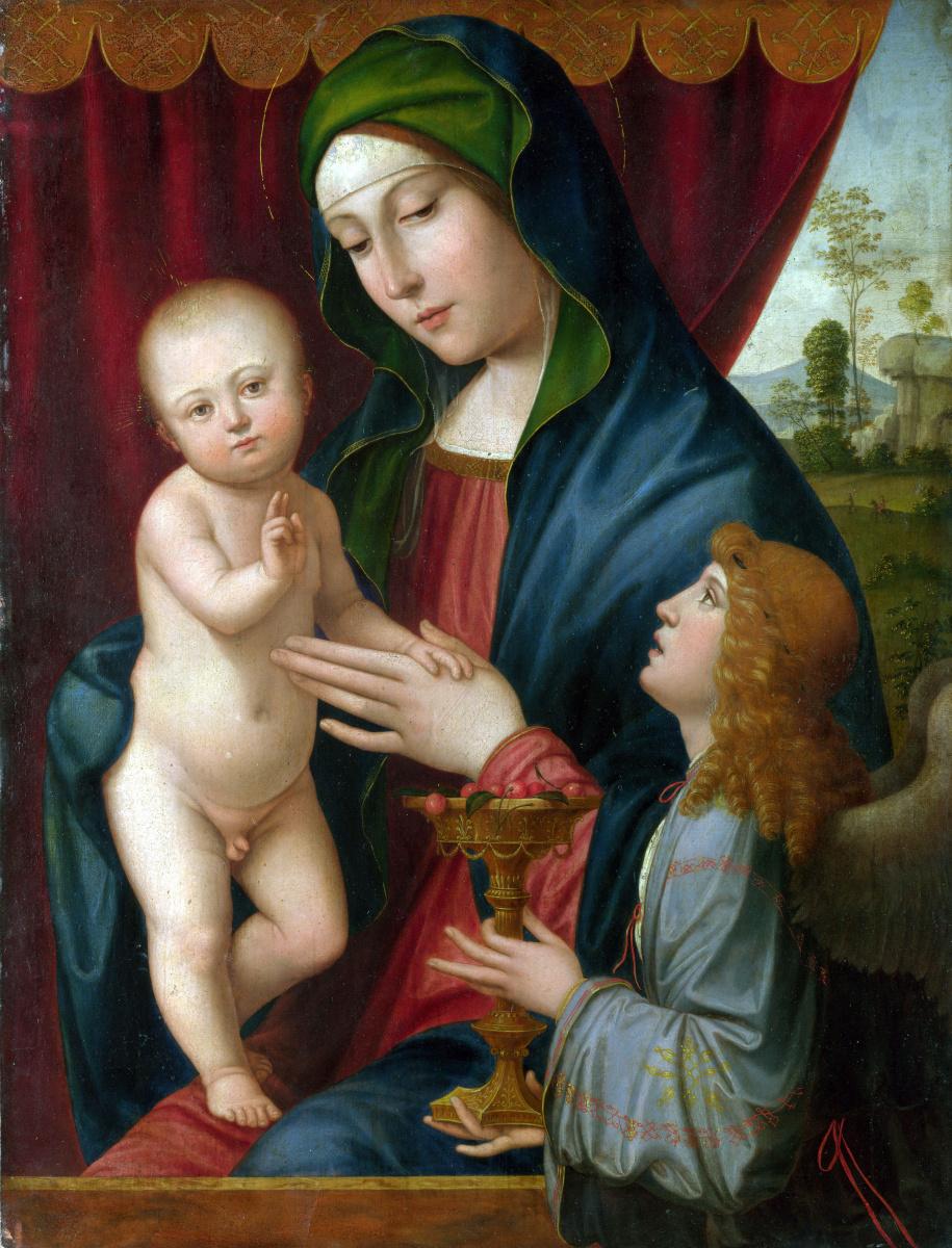 Франческо Франция После. Дева с младенцем и ангелом