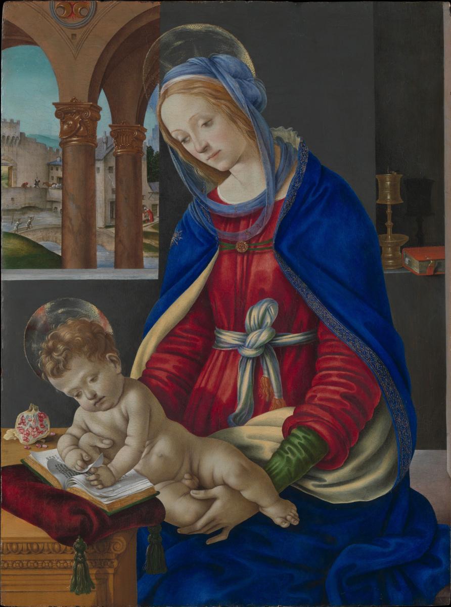 Филиппино Липпи. Мадонна с младенцем
