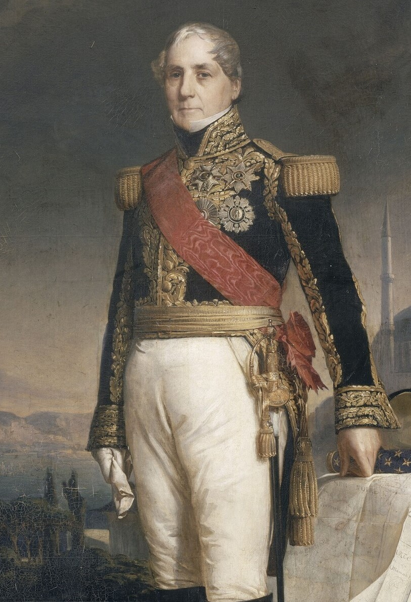 Франц Ксавер Винтерхальтер. Гораций-Франсуа-Бастьен Себастьяни, граф Ла-Порта. Фрагмент