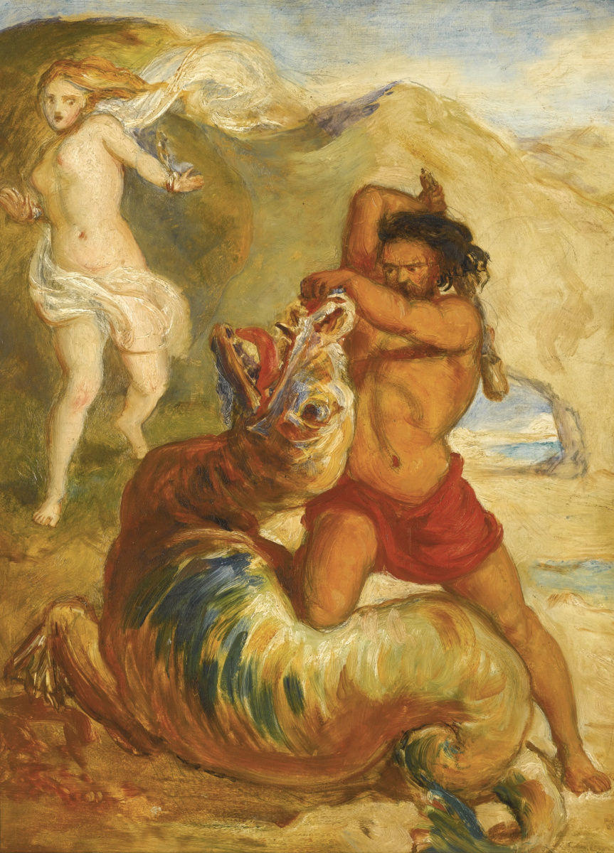 Джон Эверетт Милле. Персей спасает Андромеду