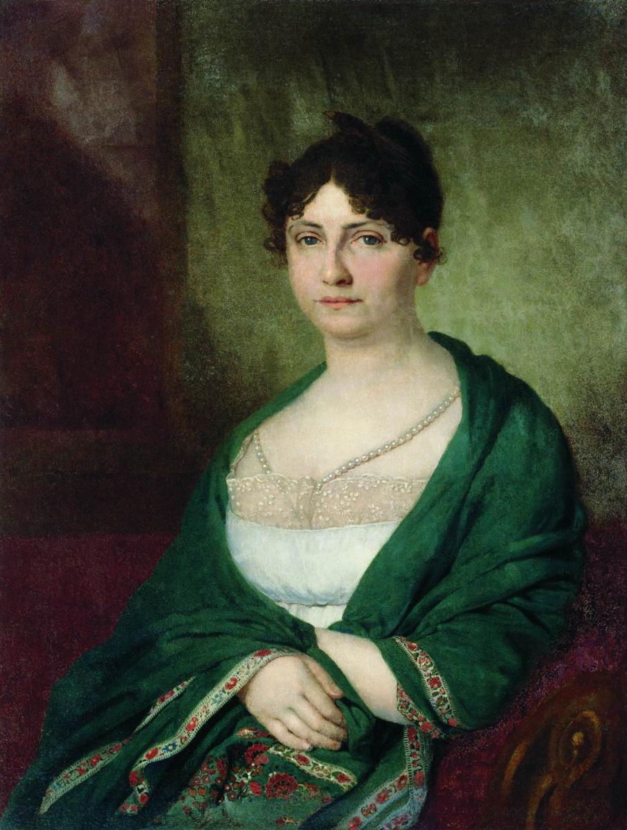 Владимир Лукич Боровиковский. Портрет Мелании Ивановны Голубцовой. 1806