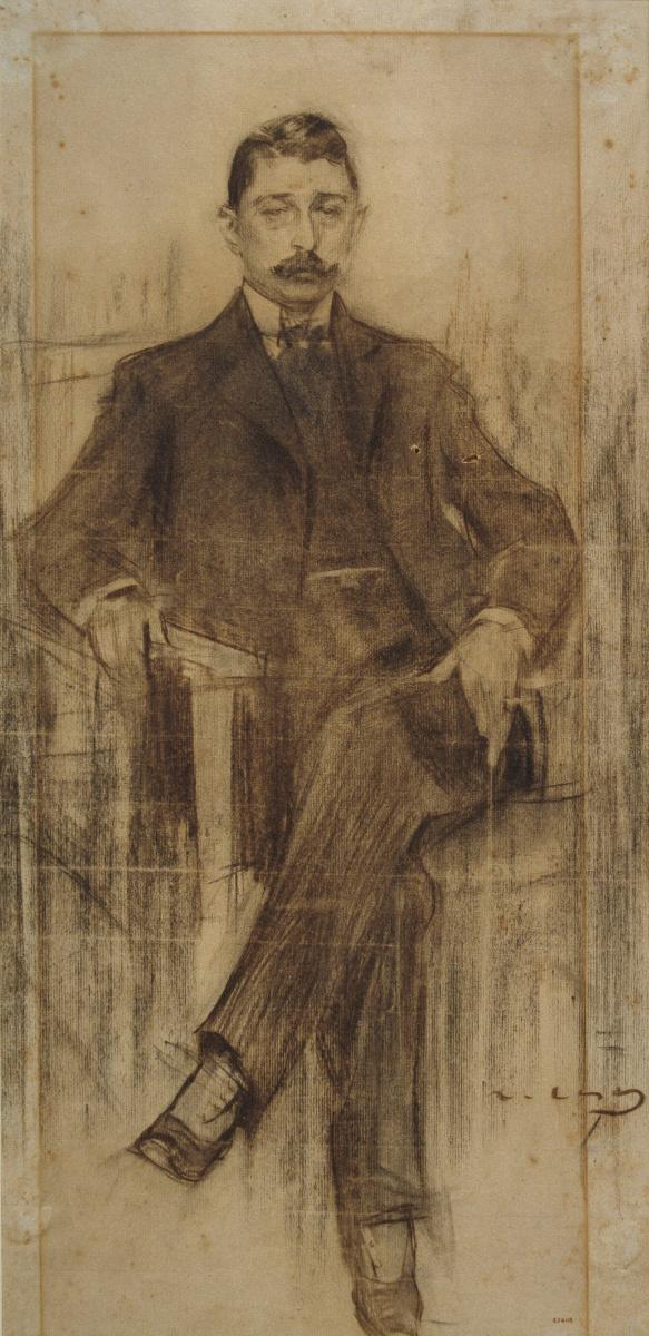 Рамон Касас Карбо. Портрет Альберта Русиньола