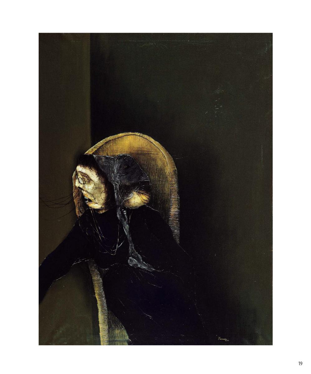 Jose Hernandez. Portrait of an old woman