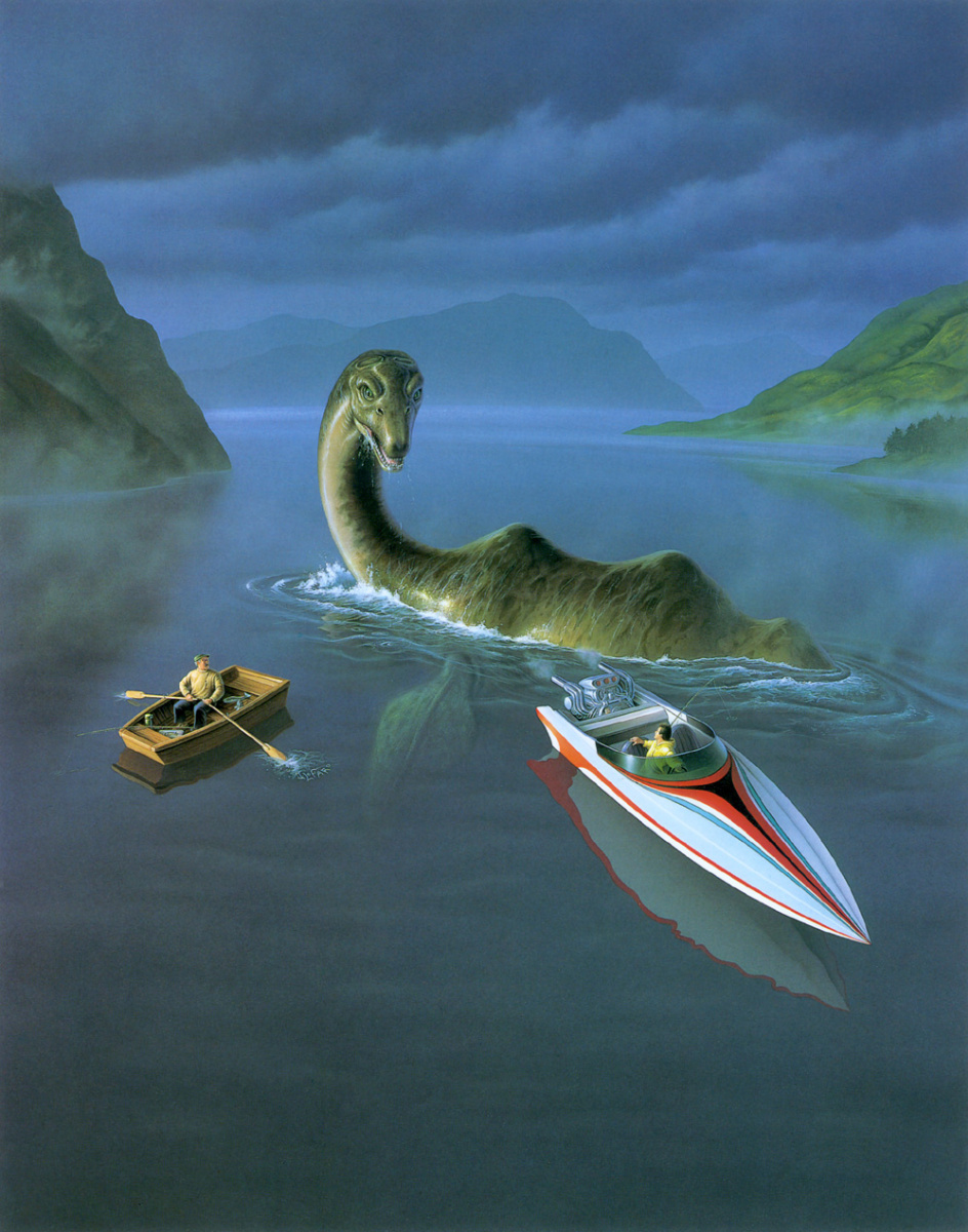 Джерри Лафаро. Лодки