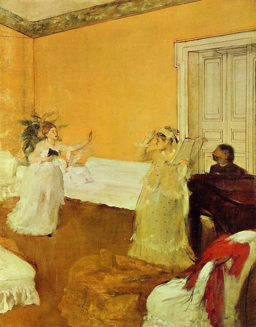Edgar Degas. Rehearsal
