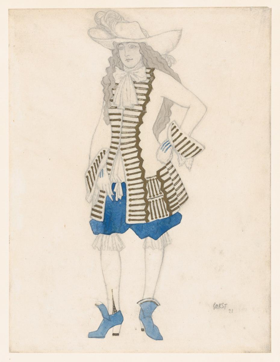 "Lev Samoilovich Bakst (Leon Bakst). Costume design for the ballet ""the Sleeping Princess"""