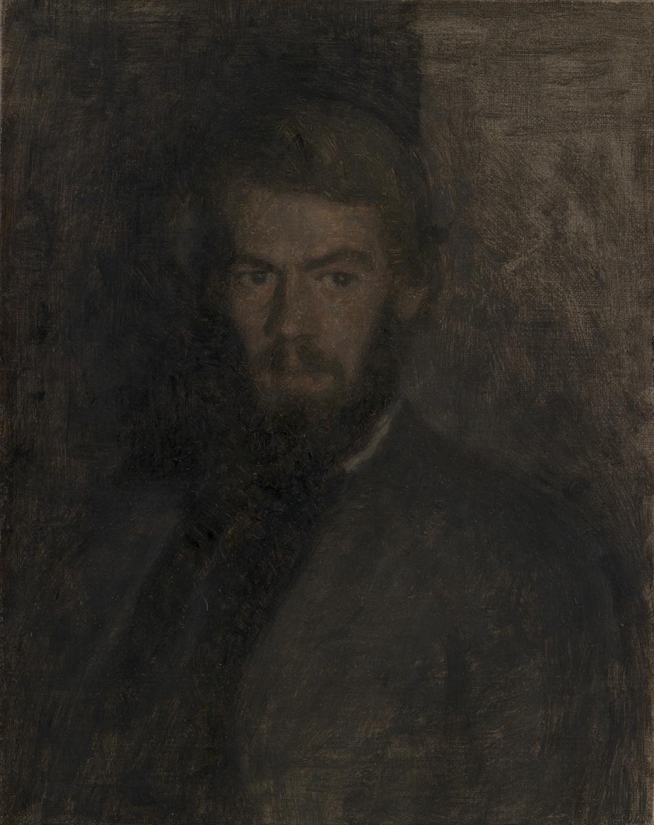 Вильгельм Хаммерсхёй. Генри Мэдсен. Эскиз