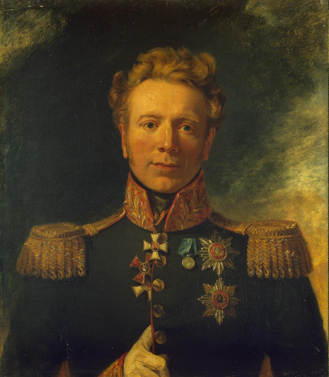 Джордж Доу. Портрет Ивана Андреевича Ливена
