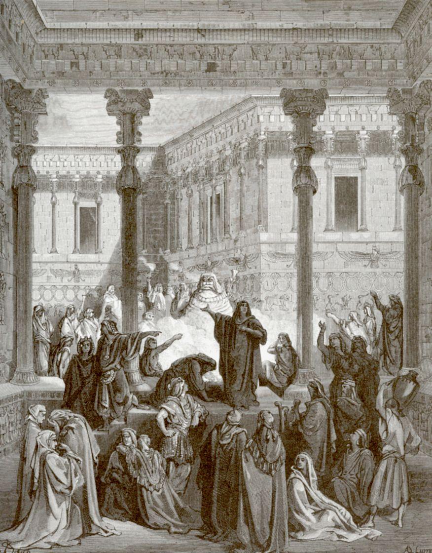 Поль Гюстав Доре. Даниил и жрецы Вила